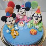 Торт Микки и Минни Маус_31