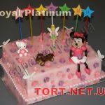 Торт Микки и Минни Маус_33