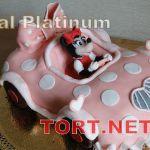 Торт Микки и Минни Маус_4