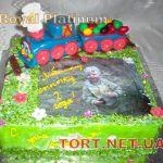 Торт Паровозик Томас и друзья_14