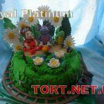 Торт Паровозик Томас и друзья_1