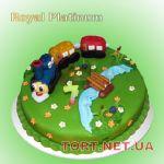 Торт Паровозик Томас и друзья_2