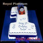Торт Паровозик Томас и друзья_4