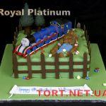 Торт Паровозик Томас и друзья_7