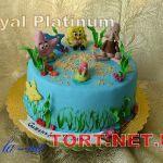 Торт Губка Боб_10