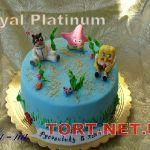 Торт Губка Боб_11