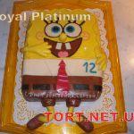 Торт Губка Боб_7