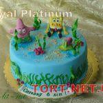 Торт Губка Боб_9