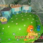 Торт Львенок и Черепаха_4