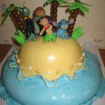 Торт Лило и Стич (Lilo & Stitch)_6