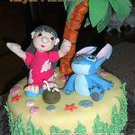 Торт Лило и Стич (Lilo & Stitch)_8