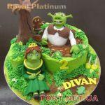 Торт Шрек (Shrek)_9