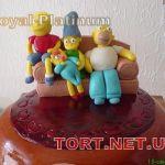 Торт Симпсоны (The Simpsons)_1