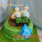 Торт на военную тематику_1