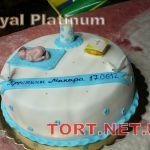 Торт на крещение_6