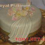 Свадебный торт 1 ярус_10