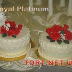 Свадебный торт 1 ярус_15