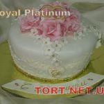 Свадебный торт 1 ярус_20