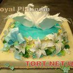 Свадебный торт 1 ярус_24