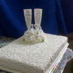 Свадебный торт 1 ярус_2