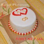 Свадебный торт 1 ярус_6