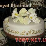 Свадебный торт 1 ярус_9