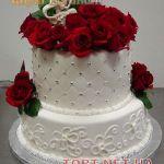 Свадебный торт 2 яруса_11
