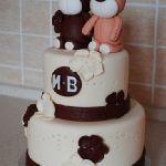 Свадебный торт 2 яруса_15