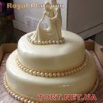 Свадебный торт 2 яруса_1