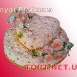 Свадебный торт 2 яруса_4