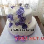 Свадебный торт 2 яруса_6