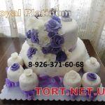 Свадебный торт 2 яруса_8