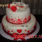 Свадебный торт 2 яруса_9