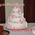 Свадебный торт 4 яруса_13