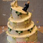Свадебный торт 4 яруса_1
