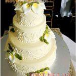 Свадебный торт 4 яруса_22
