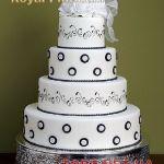 Свадебный торт 4 яруса_3