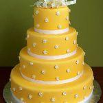 Свадебный торт 4 яруса_5