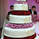 Свадебный торт 5 ярусов_54