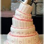 Свадебный торт 5 ярусов_7