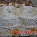 Свадебный торт из крема_10