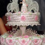 Свадебный торт из крема_11