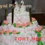 Свадебный торт из крема_15
