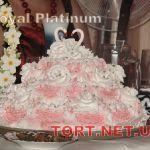 Свадебный торт из крема_16