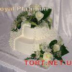 Свадебный торт из крема_18