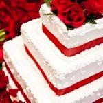 Свадебный торт из крема_19