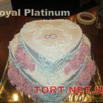 Свадебный торт из крема_1