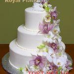 Свадебный торт из крема_20