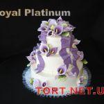 Свадебный торт из крема_21