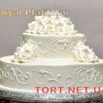 Свадебный торт из крема_22